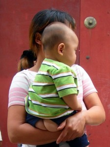 Chinese Baby No Diapers